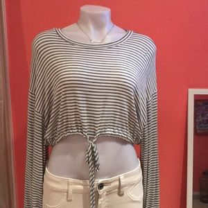 Sexy cropped top, Audrey 3+1 brand